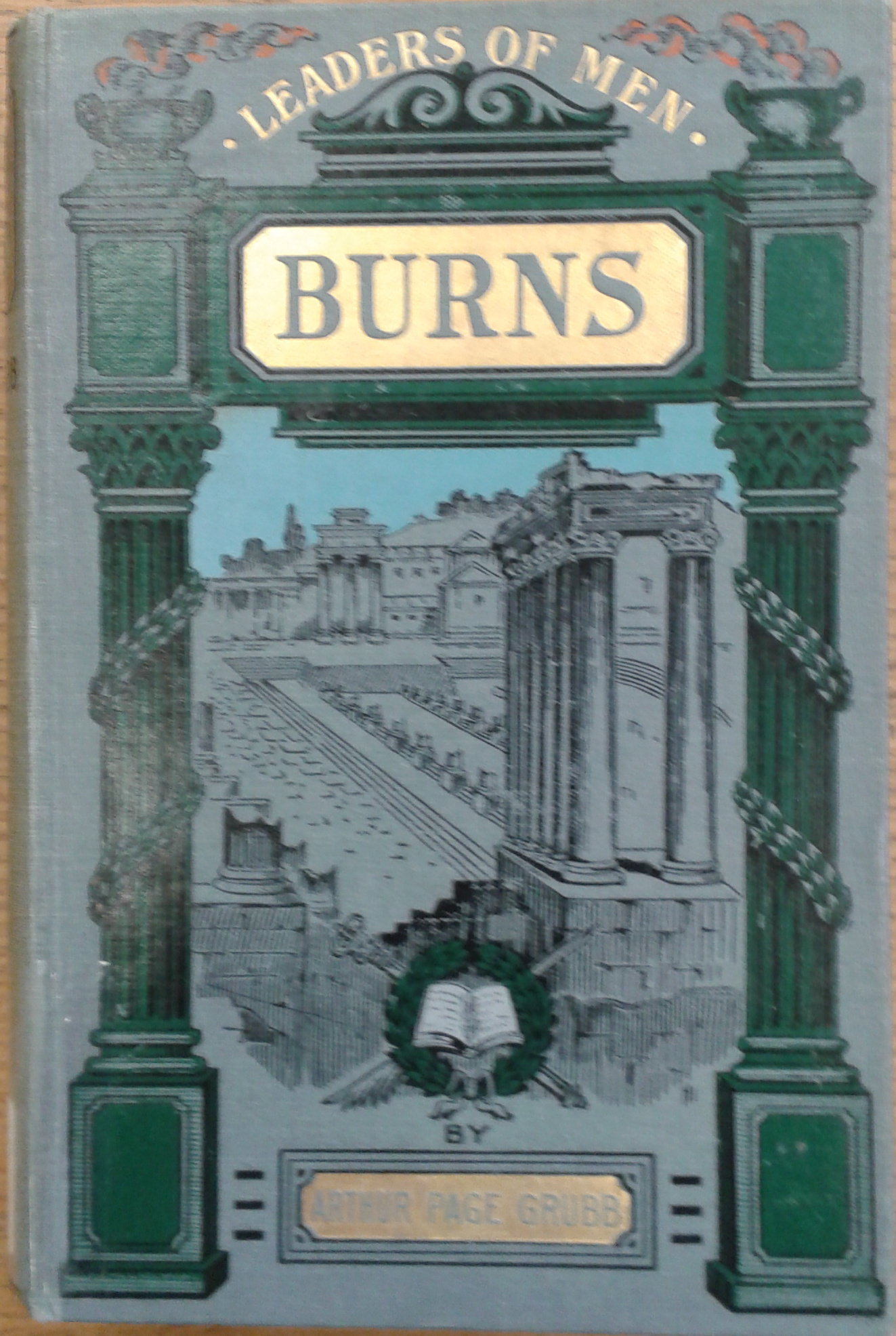 Burns book cover