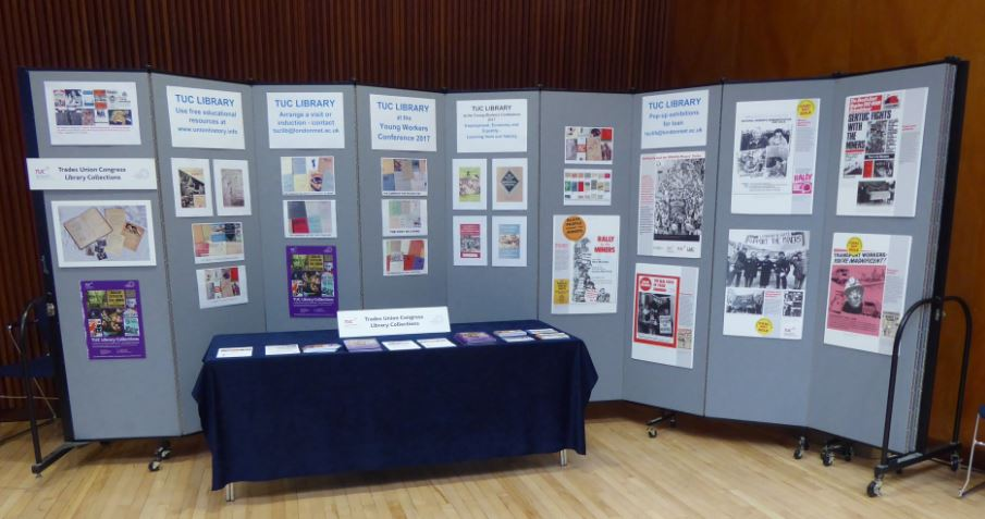 TUC Library stand