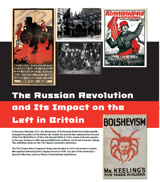 The Russian Revolution and its Impact on the Left in Britain, 1917-1926