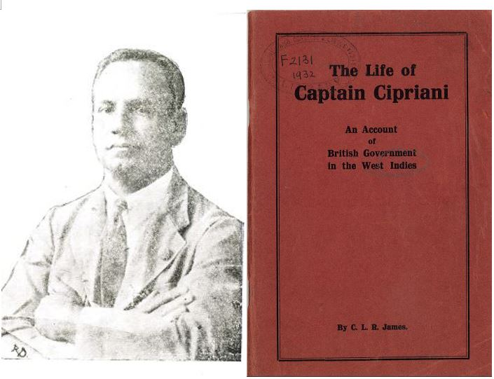 Portrait and biography of author A.A. Cipriani