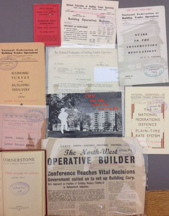 various publications from the National Federation of Building Trades Operatives