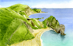 Durdle Door, Dorset, Derek Wood