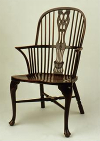 Windsor chair from Parker Collection