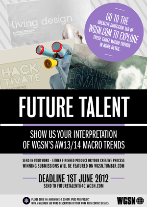 WGSN design competition