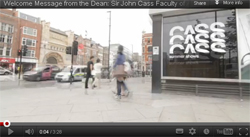 The CASS Faculty of Art Architecture and Design A message from the Dean