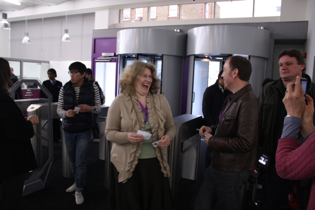 Grand opening of newly refurbished Holloway Road Library March 2012