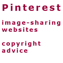 Pinterest and copyright advice